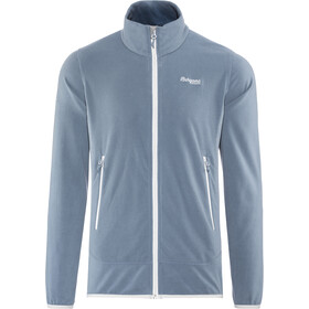 Bergans Lovund Fleece Jacket Herren fogblue/aluminium